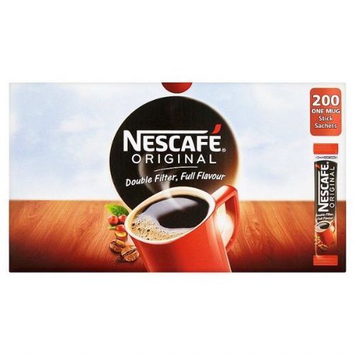 Nescafe Original  - Coffee - BULK BOX - 200 sticks